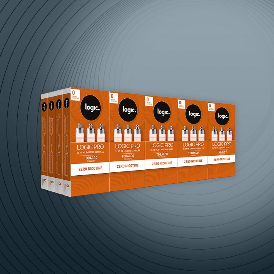 Logic PRO Tobacco 0mg 60x Capsules