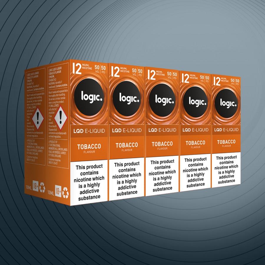 10ml Tobacco 12mg x10 bottles