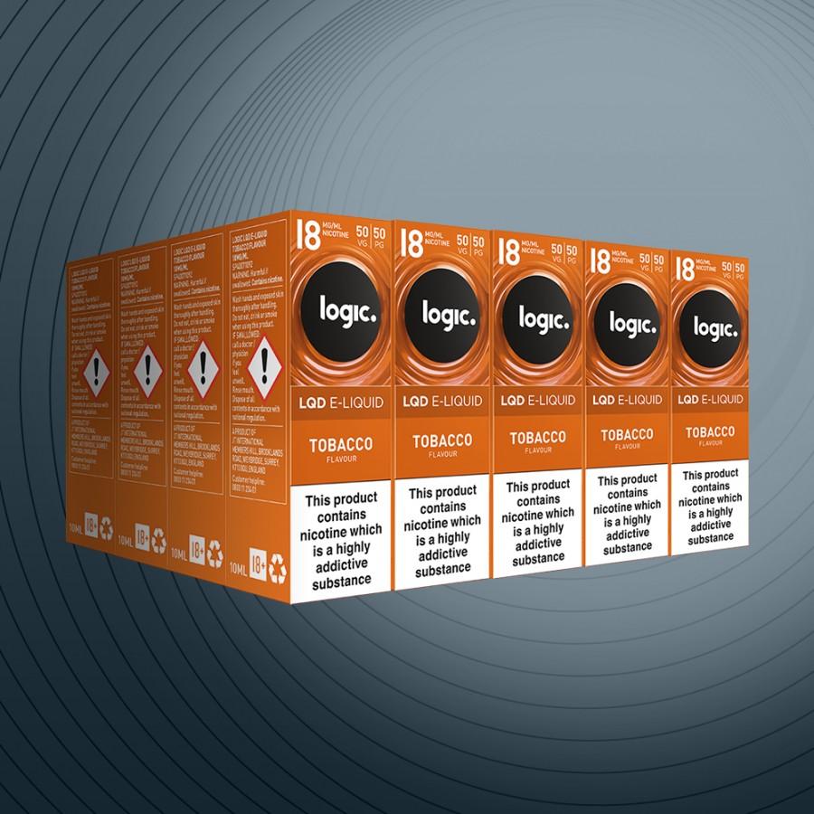 10ml Tobacco 18mg x20 bottles