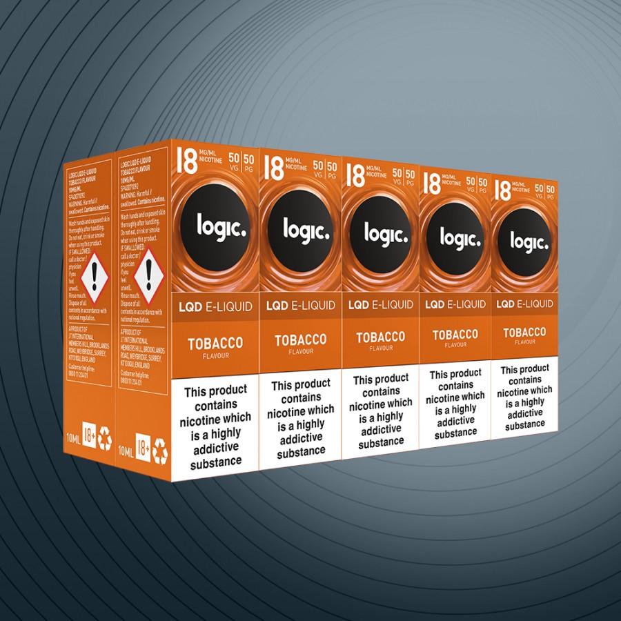 10ml Tobacco 18mg x10 bottles