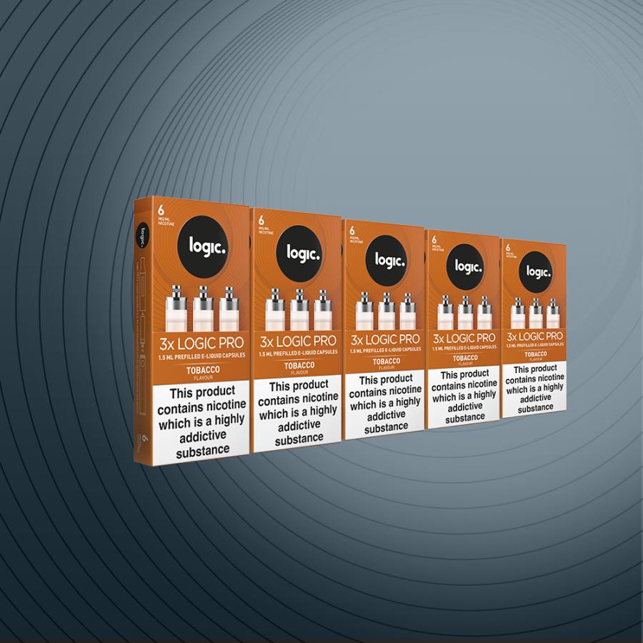 Multipack 15 Capsules Tobacco 18mg