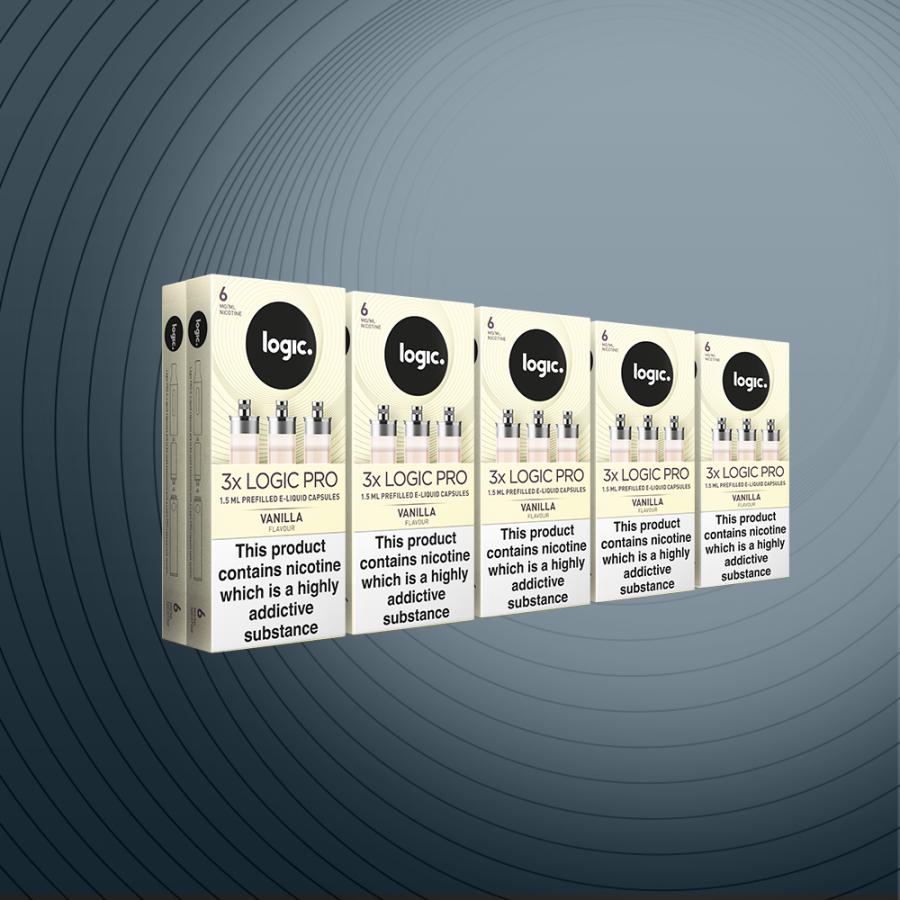 Multipack 30 Capsules Vanilla 6mg