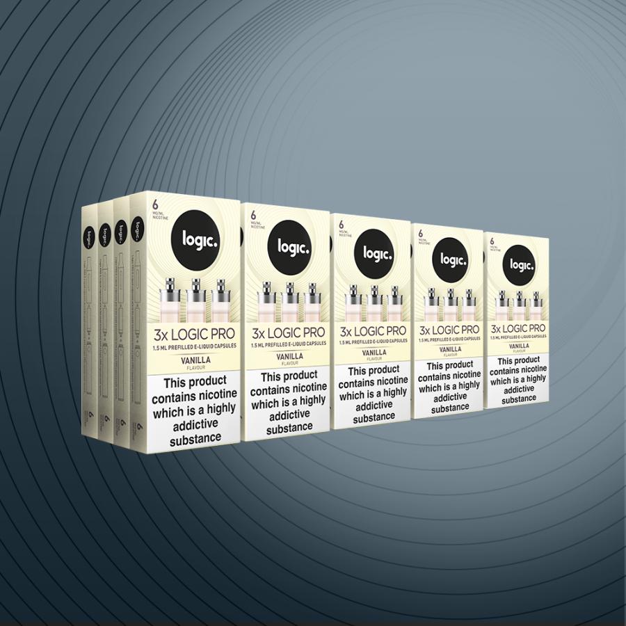 Multipack 60 Capsules Vanilla 6mg