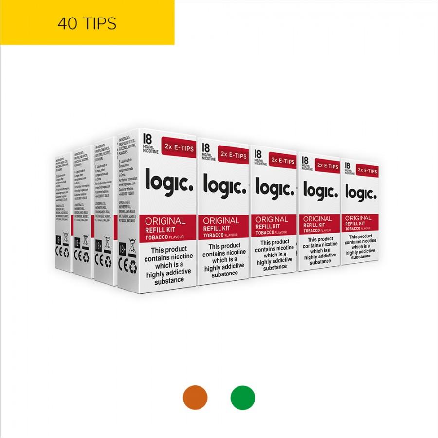 Logic Original Multipack | 40 Tips