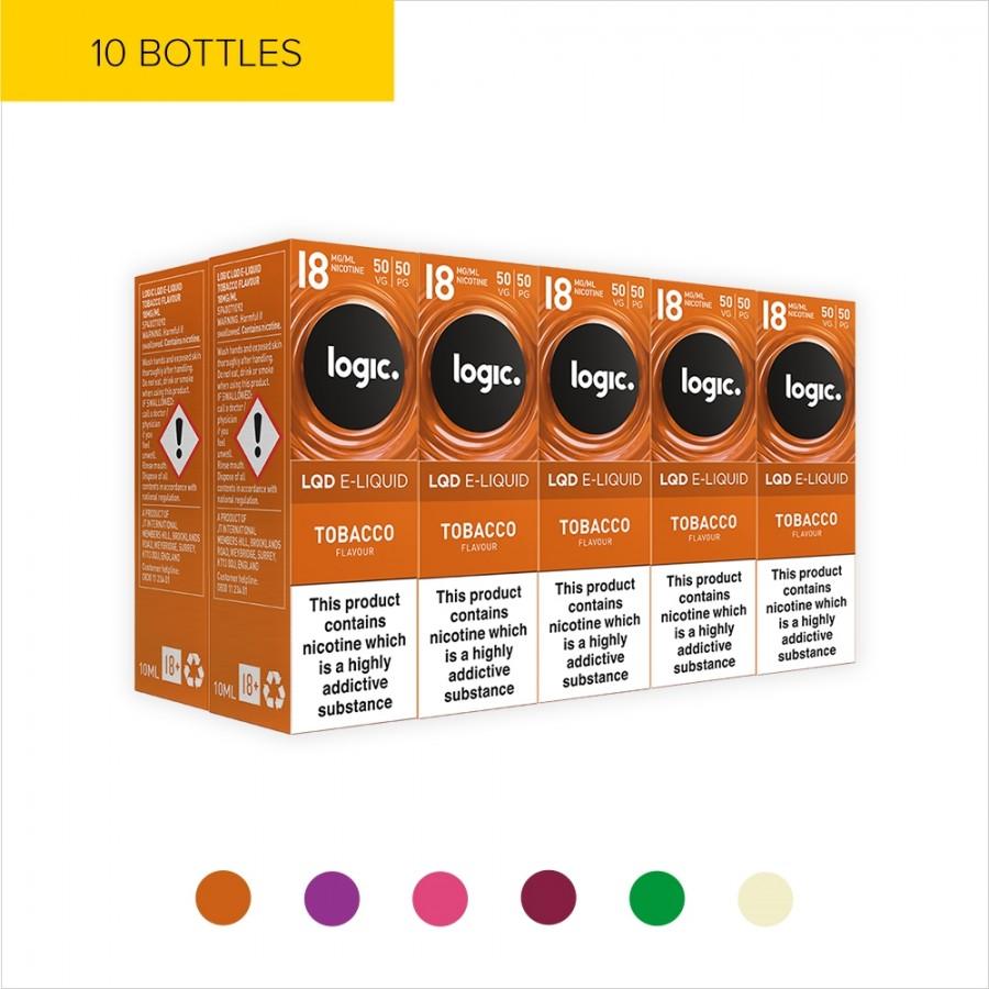 Logic LQD Multipack | 10 E-liquid Bottles