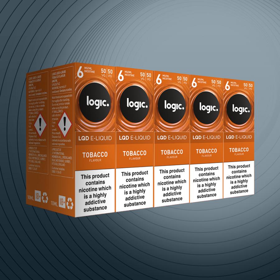 10ml Tobacco 6mg x10 bottles