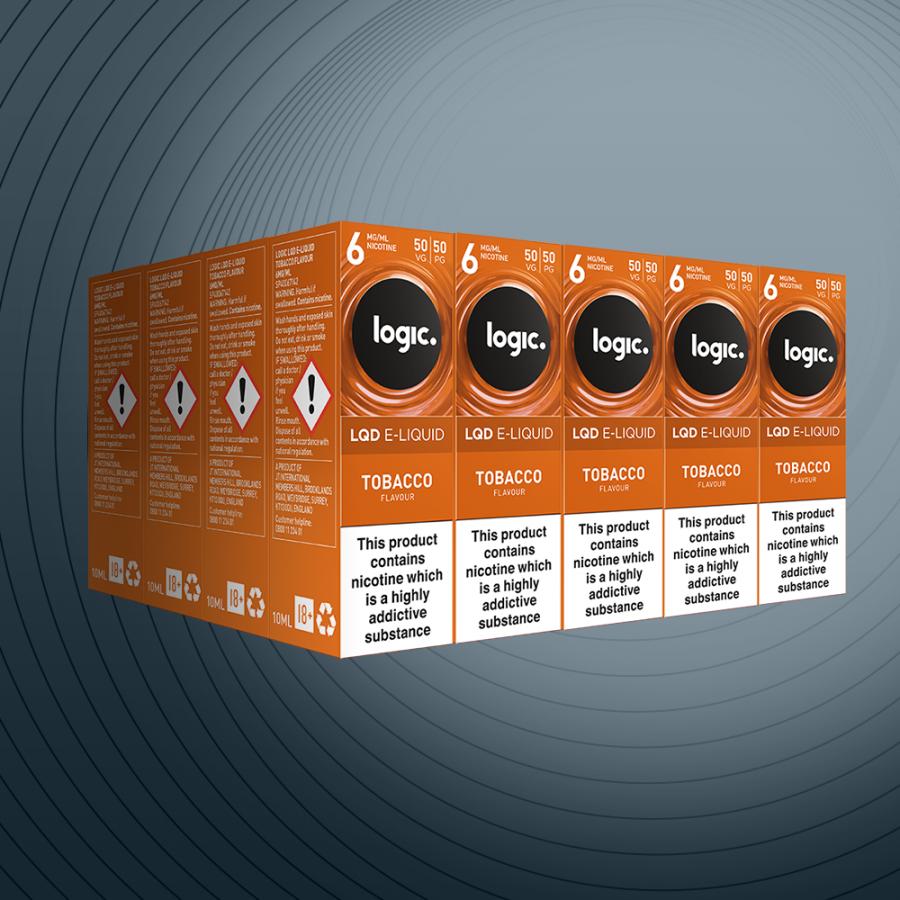 10ml Tobacco 6mg x20 bottles
