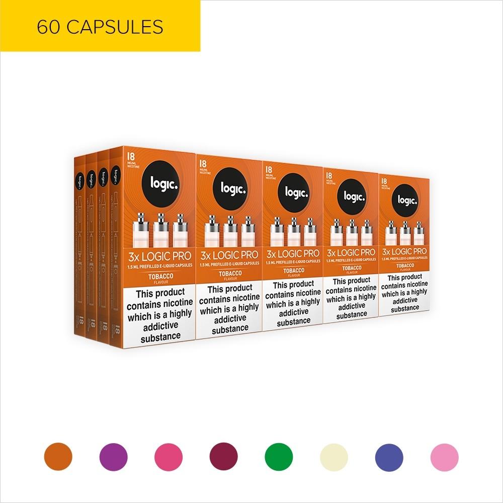Logic PRO Multipack | 60 Capsules