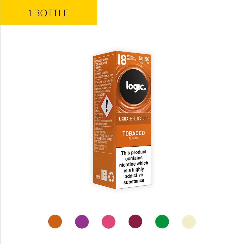 LOGIC LQD | 1 E-LIQUID BOTTLE