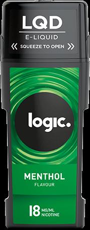 Logic LQD e liquids Menthol Available in 12mg/ml
