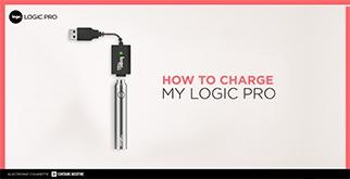 How to charge my Logic PRO