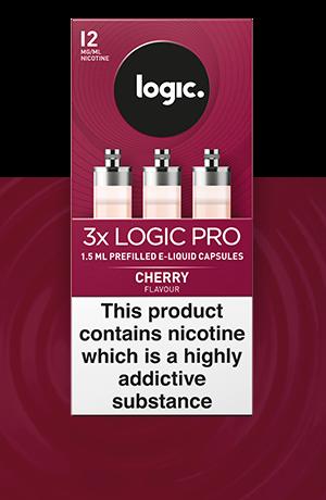 Logic PRO e liquid Cherry refills