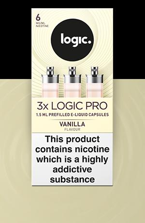 Logic Pro e liquid Vanilla refills